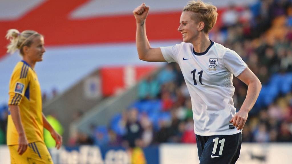 England celebrate their win against Ukraine