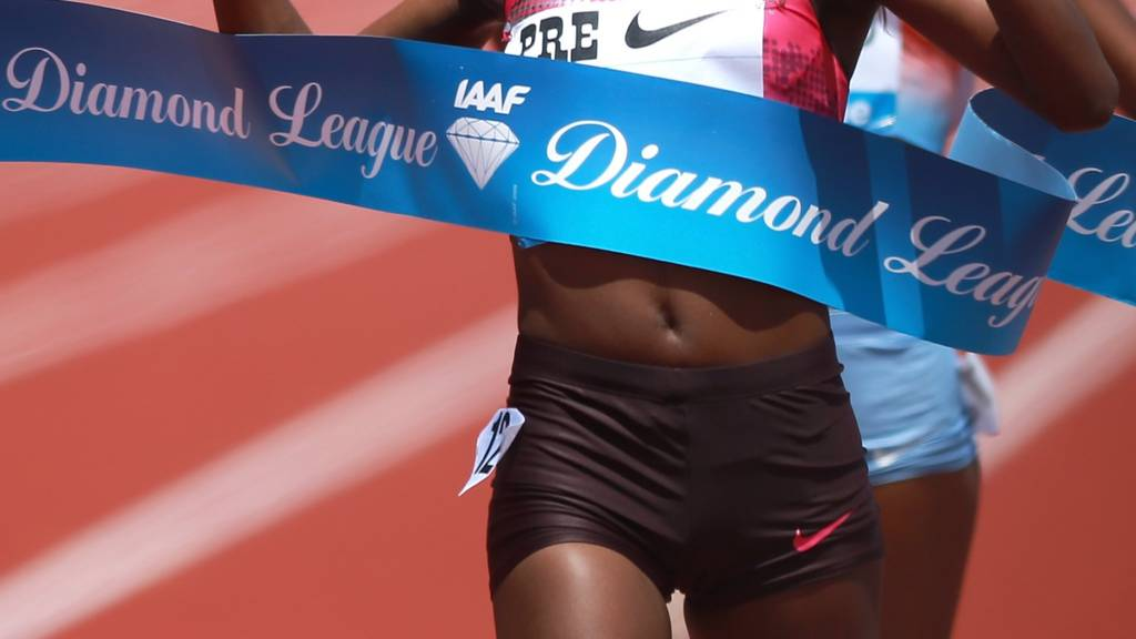Tirunesh Dibaba takes the win at last year's Diamond League meeting in Eugene