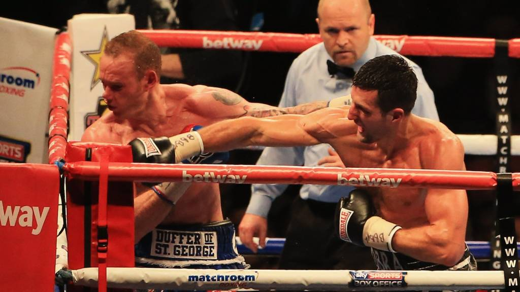 Carl Froch knocks out George Groves
