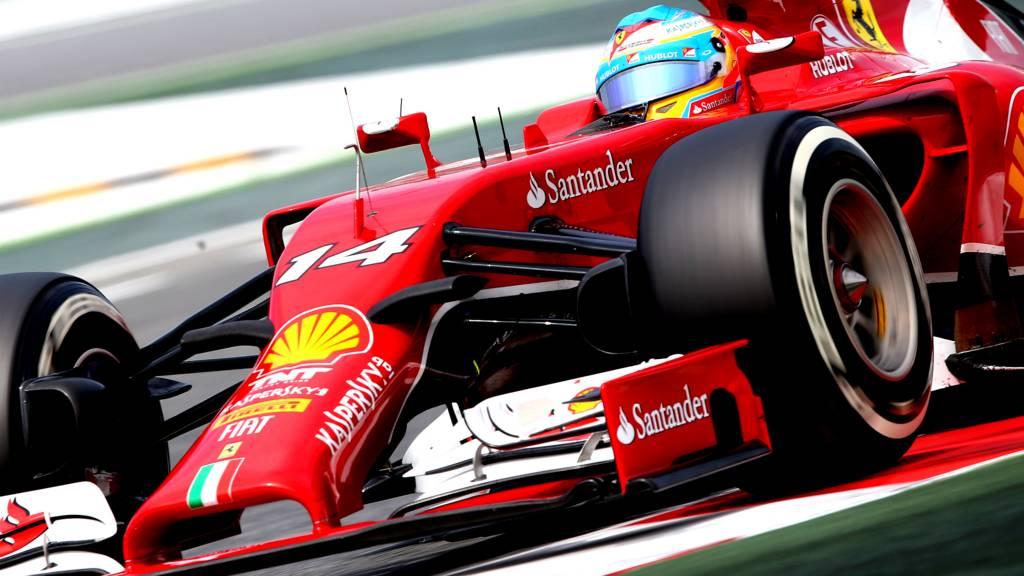 Ferrari F1 driver Fernando Alonso