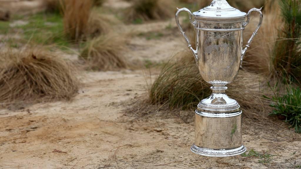 Men's US Open Trophy