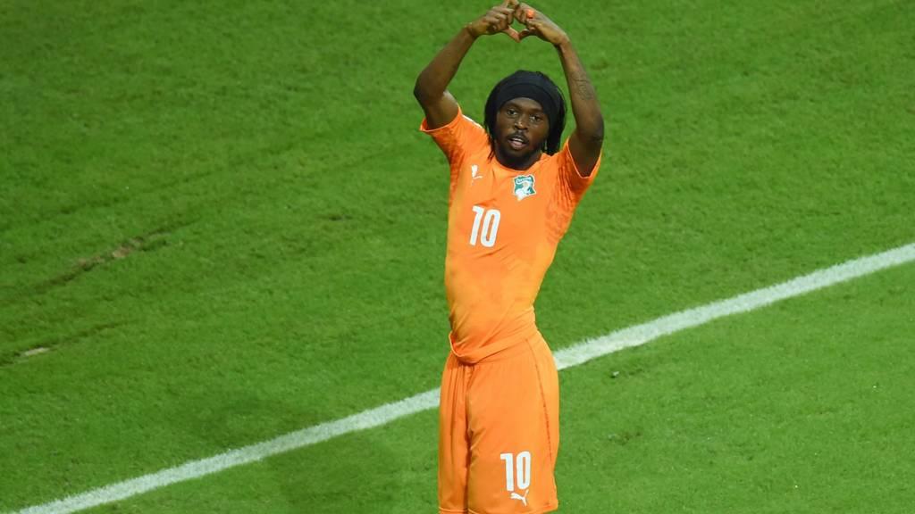 "Ivory Coast""s forward Gervinho"