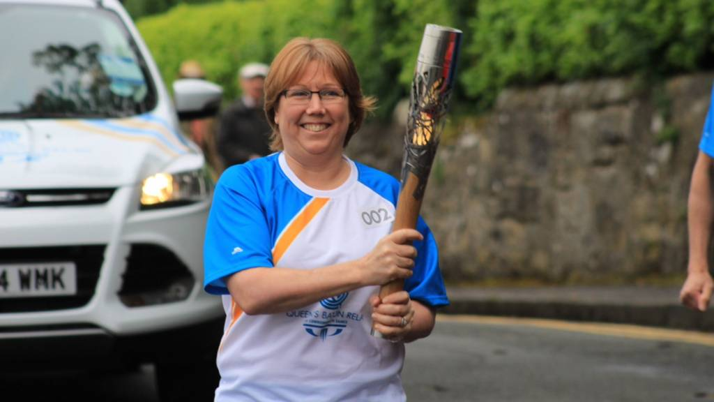Baton celebrations in West Lothain
