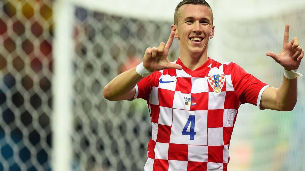 Ivan Perisic scores Croatia's second