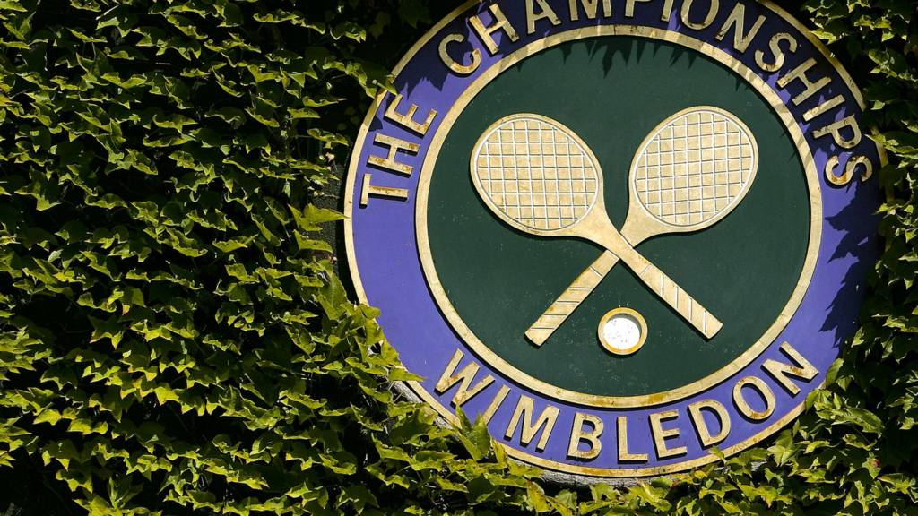 - The official logo of the Wimbledon Championships