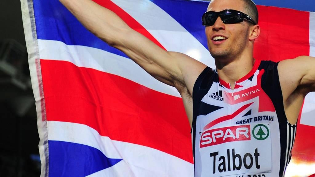 Daniel Talbot in action