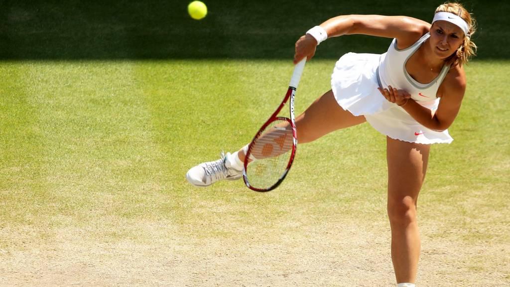 Sabine Lisicki at Wimbledon