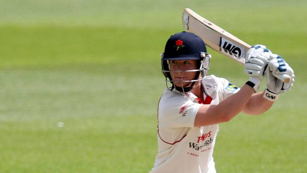 Davies batting for Lancashire