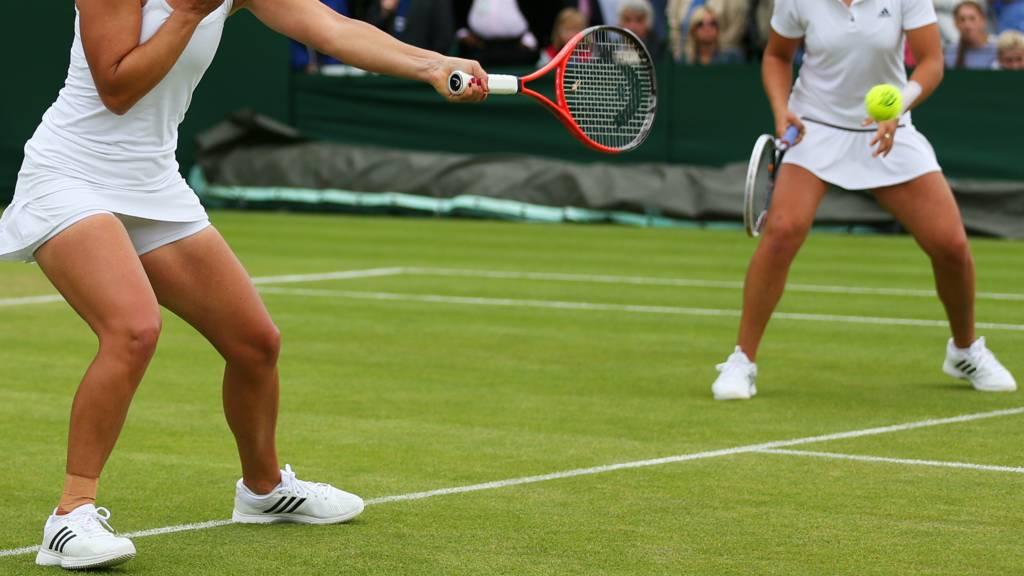 Women's doubles at Wimbledon