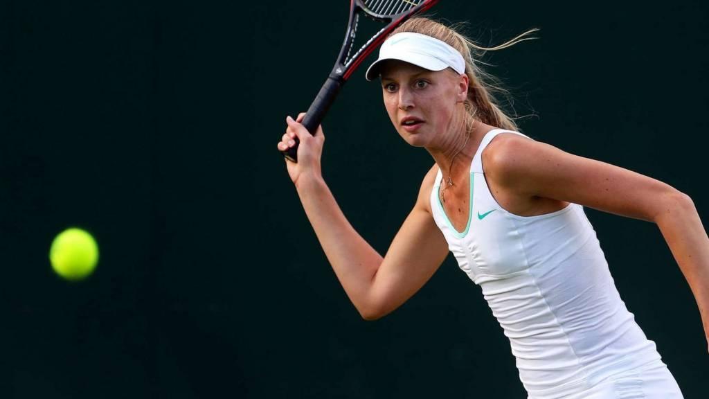 Naomi Broady at Wimbledon