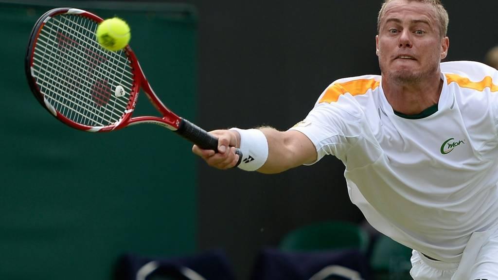Lleyton Hewit at Wimbledon