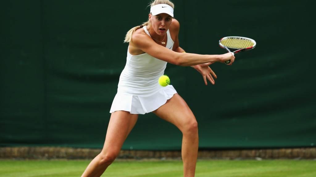 Naomi Broady at Wimbledon 2014