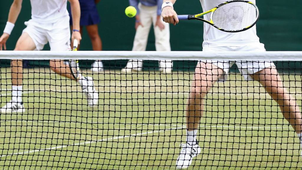 men's doubles at Wimbledon