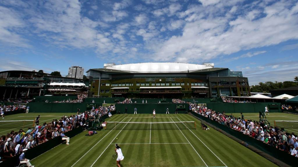Outer courts at the Wimbledon Championships