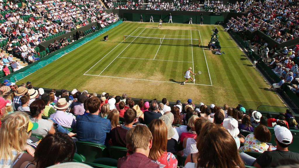 Generic court two Wimbledon