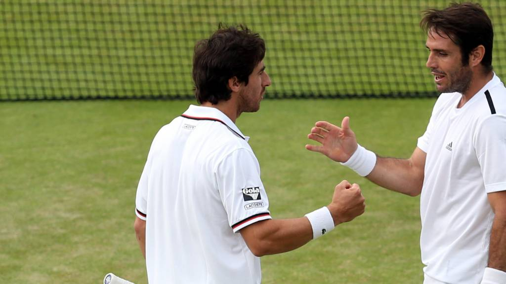 Cuevas and Marrero at Wimbledon