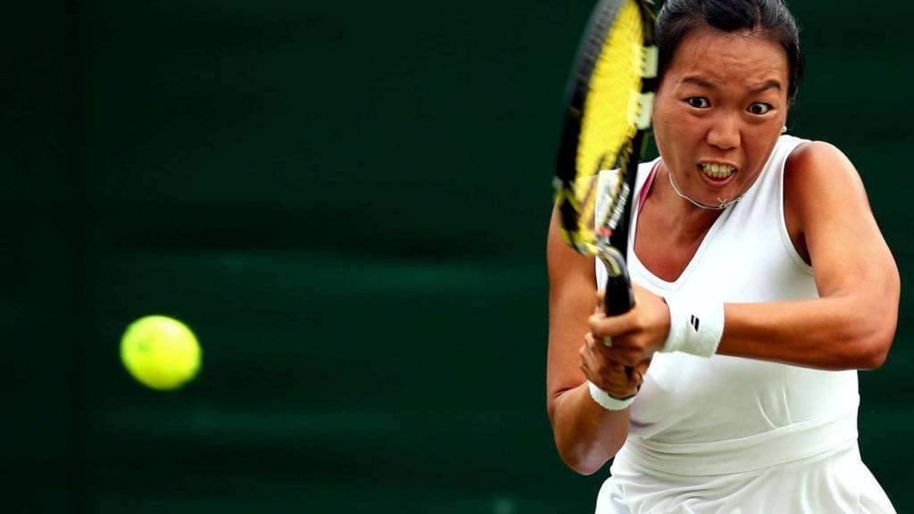 HERO Vania King at Wimbledon 2014