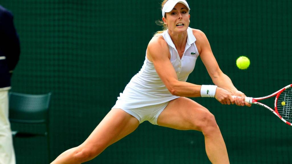 HERO Alize Cornet at Wimbledon 2014