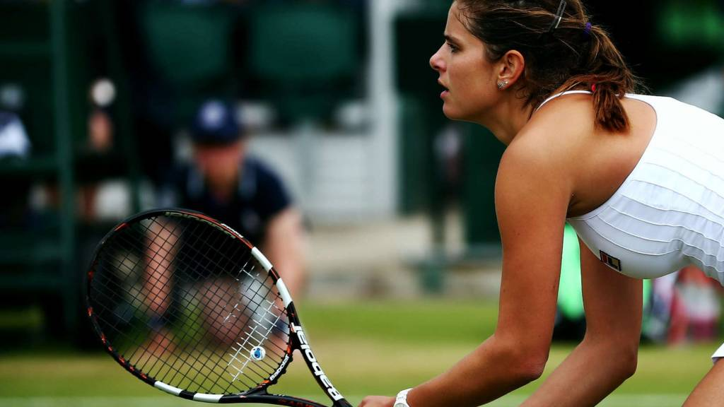 HERO Julia Goerges at Wimbledon