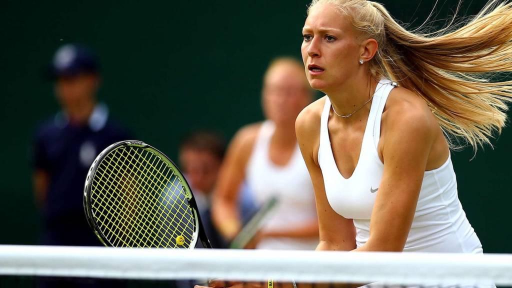 HERO Jocelyn Rae at Wimbledon 2014