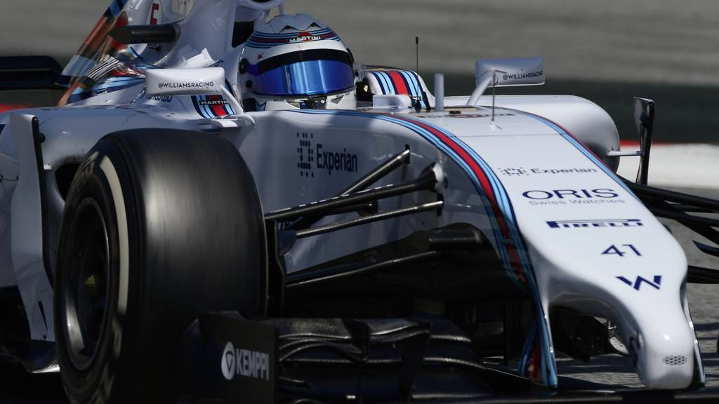 Susie Wolff drives for Williams