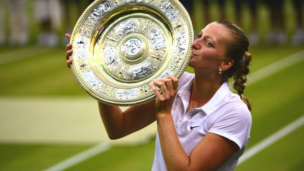 2014 Wimbledon champion Petra Kvitova