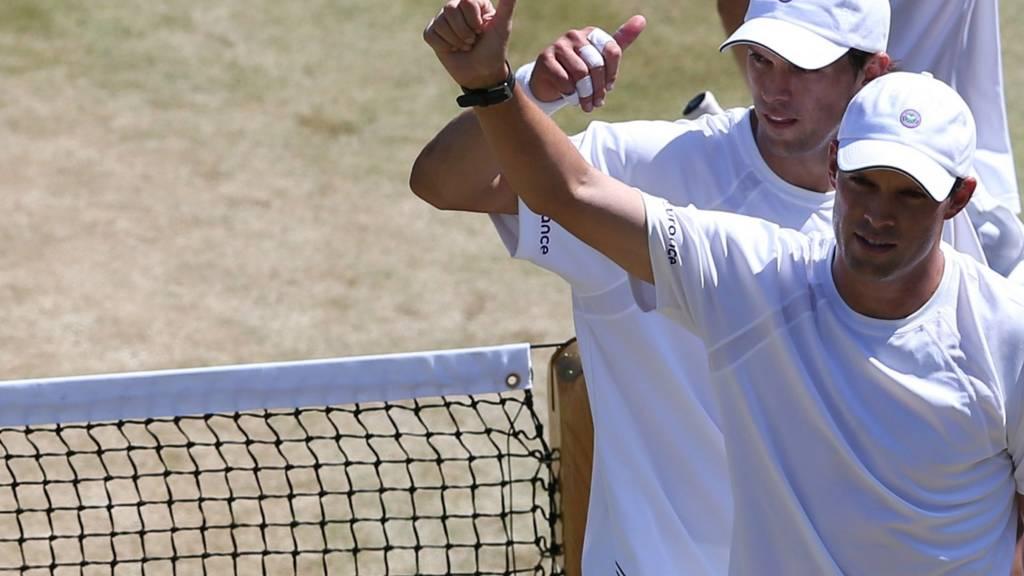 Bryan Brothers at Wimbledon 2014