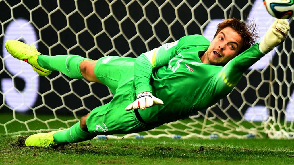 Netherlands keeper Tim Krul puts them through to the semi-finals