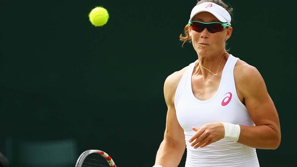 Samantha Stosur at Wimbledon 2014