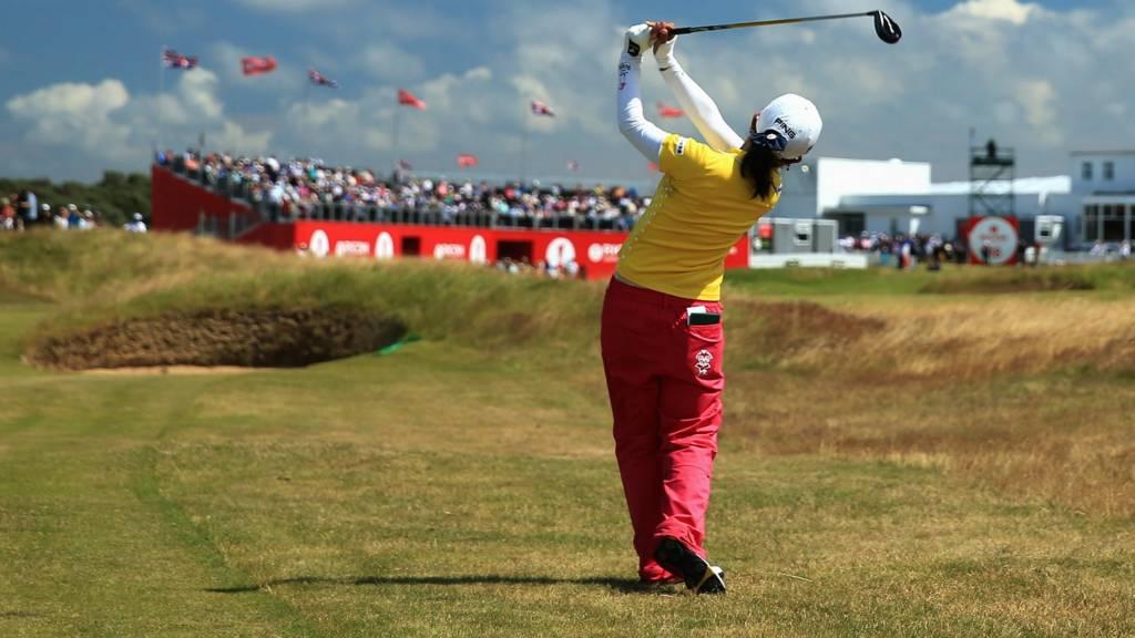 Ayako Uehara at the British Open