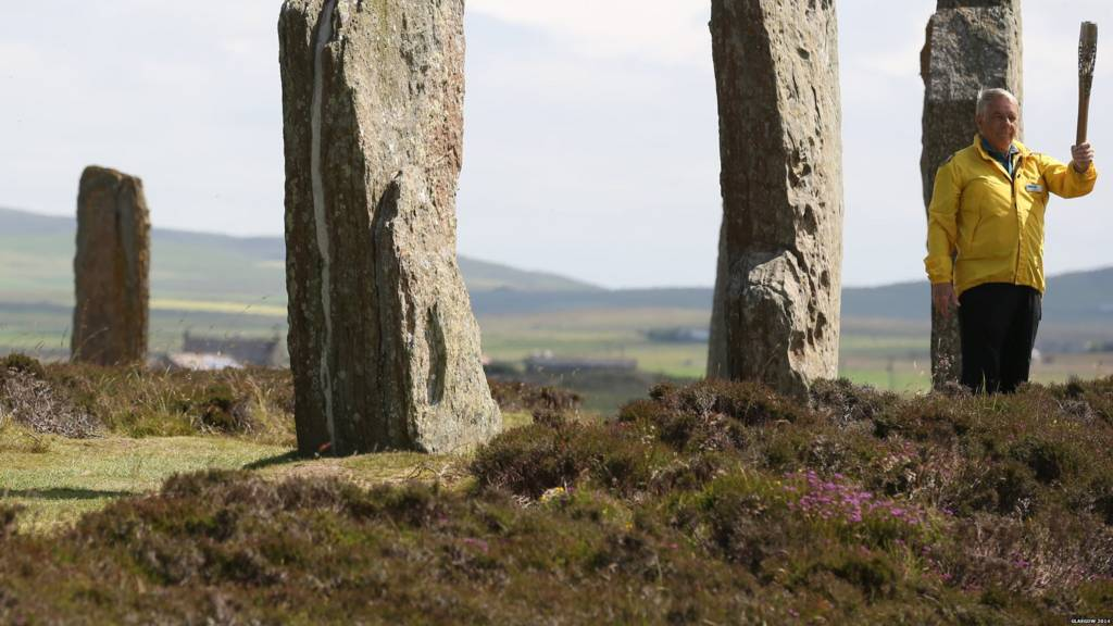 Keith Brown, Ring of Brodgar World Heritage Site Ranger