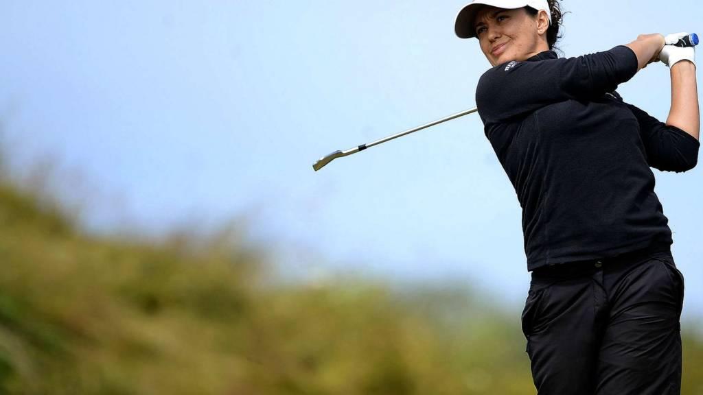 Women's British Open champion Mo Martin