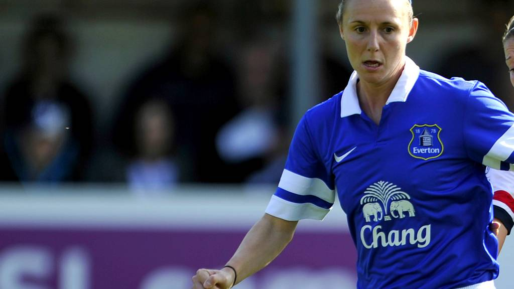 Everton Ladies star Lindsay Johnson