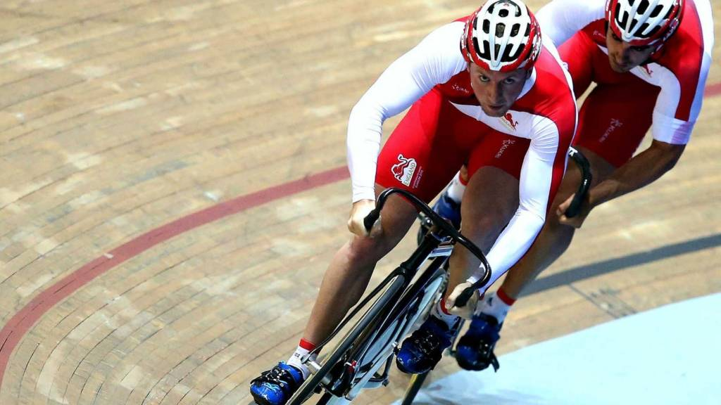 Team England cyclist Jason Kenny