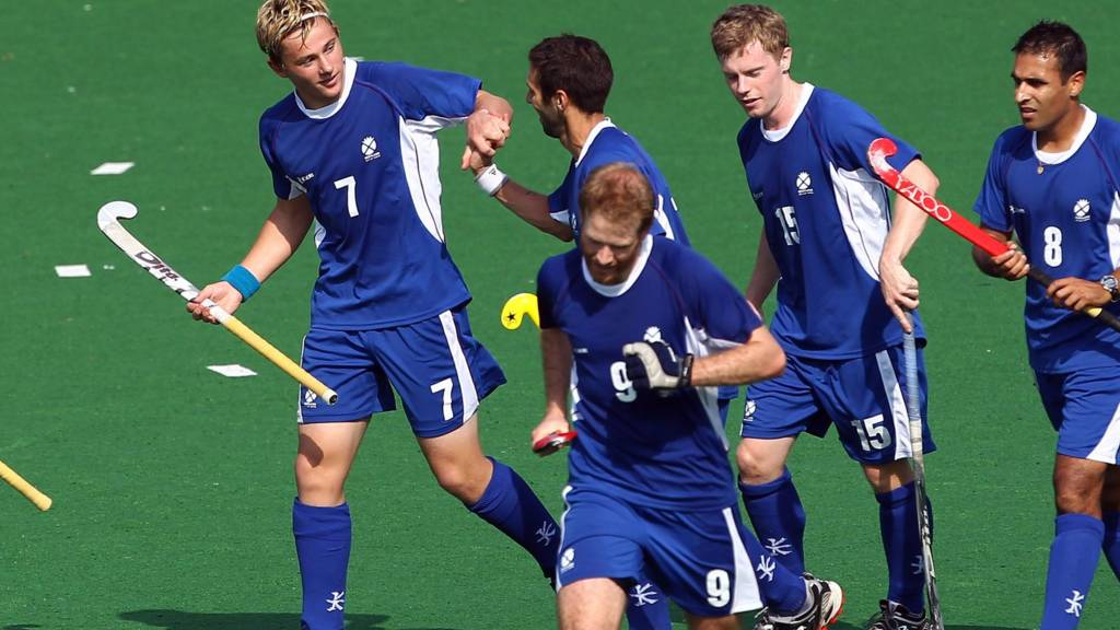 Scotland players commonwealth games