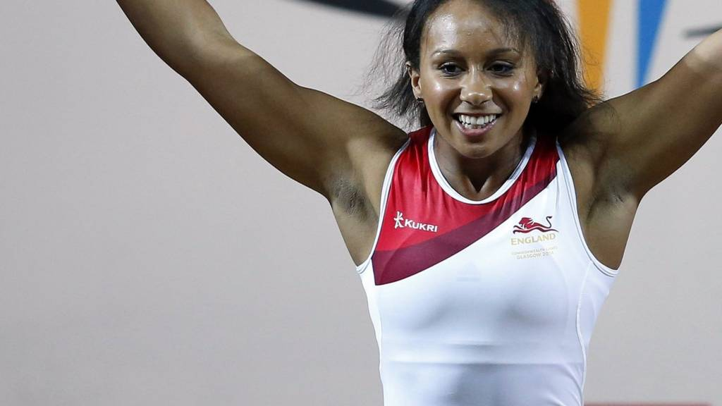 Zoe Smith of England competes in the Commonwealth Games 2014