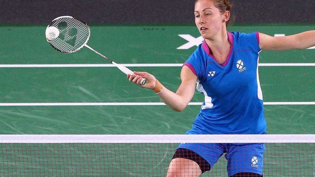 Kirsty Gilmour of Scotland in action