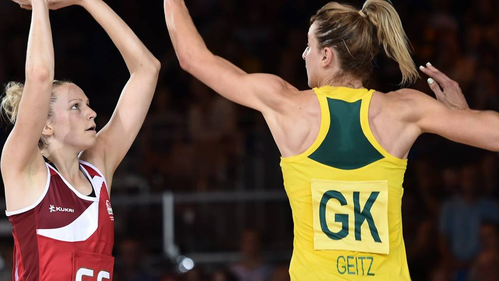 Australia's Laura Geitz plays at the 2014 Games
