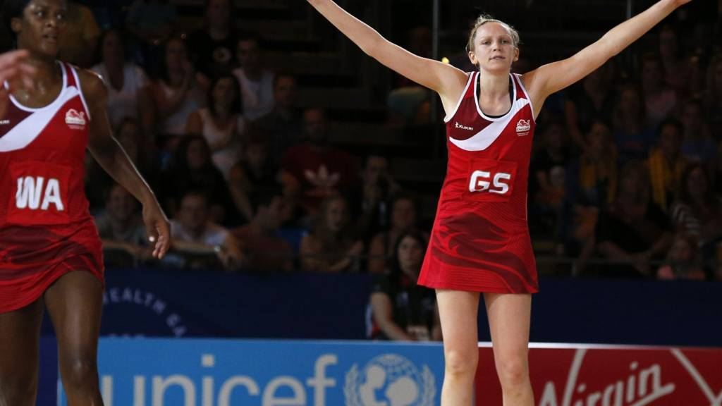 Joanne Harten of England at the Glasgow 2014 Games