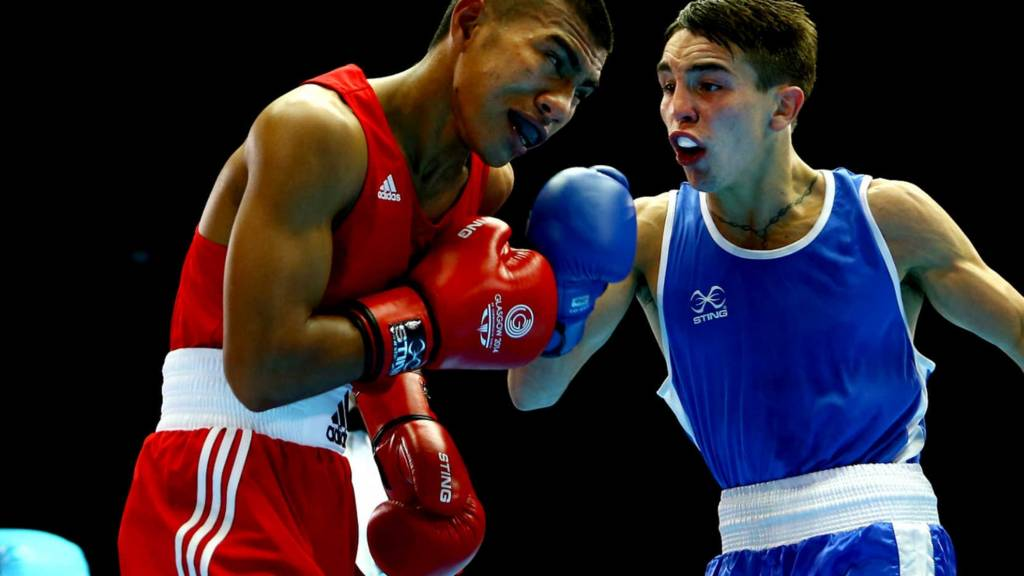Northern Irish boxer Michael Conlan
