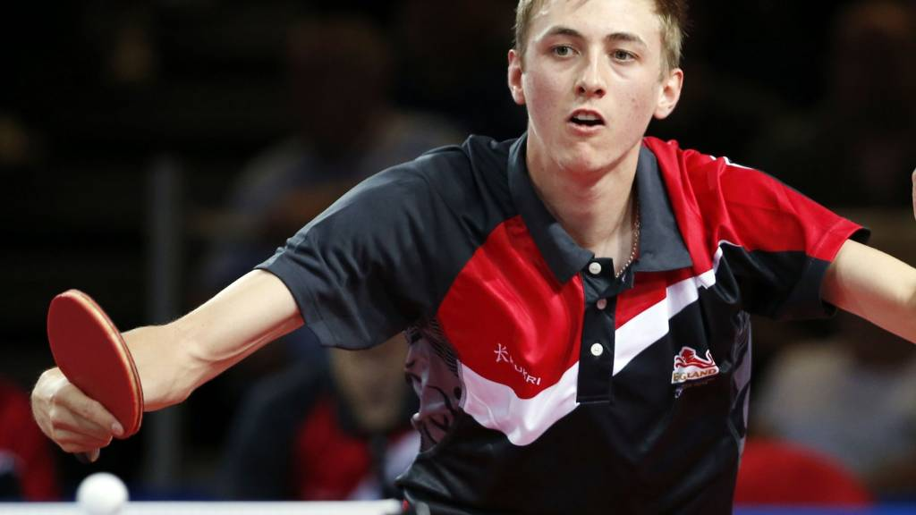 Liam Pitchford of England at the Commonwealth Games