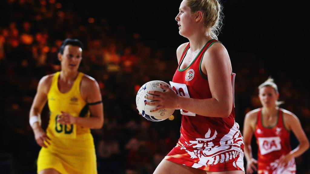 Team Wales in action at the Commonwealth Games