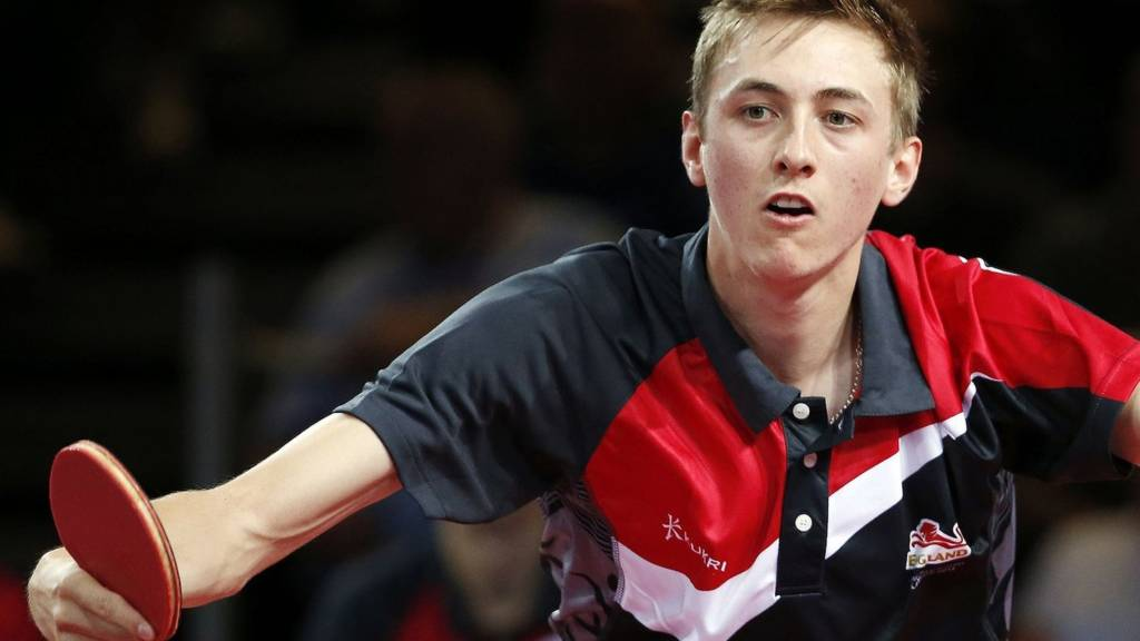 England's Liam Pitchford in action at the Glasgow 2014 Commonwealth Games