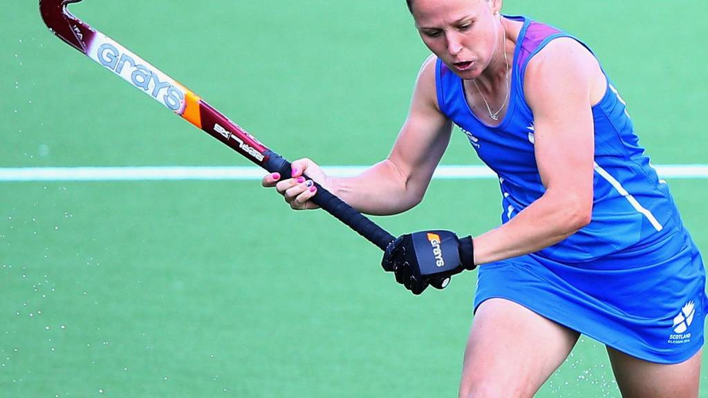 Scotland's woman's hockey team are in action against Wales