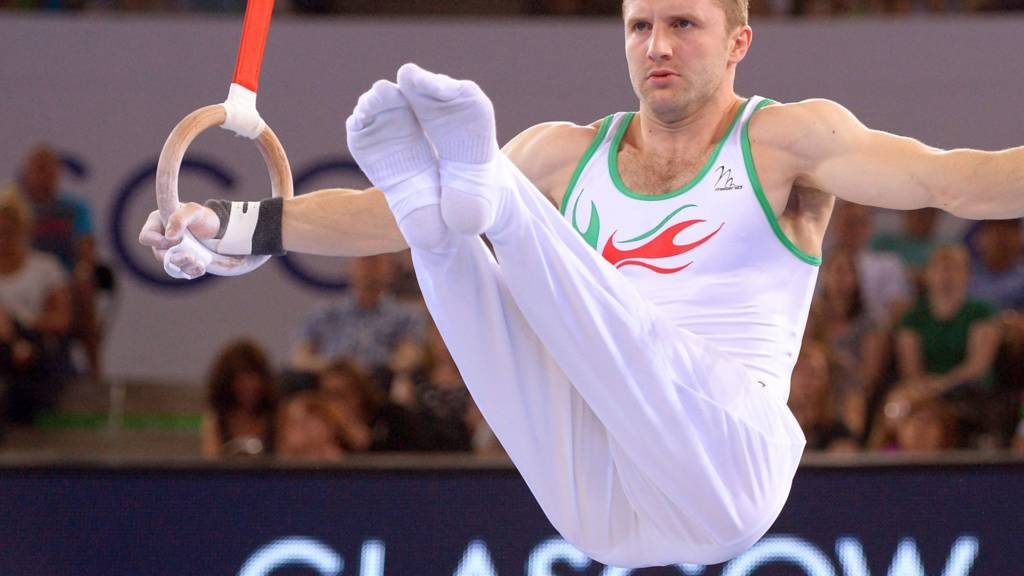 Clinton Purnell of Wales competes at Glasgow 2014