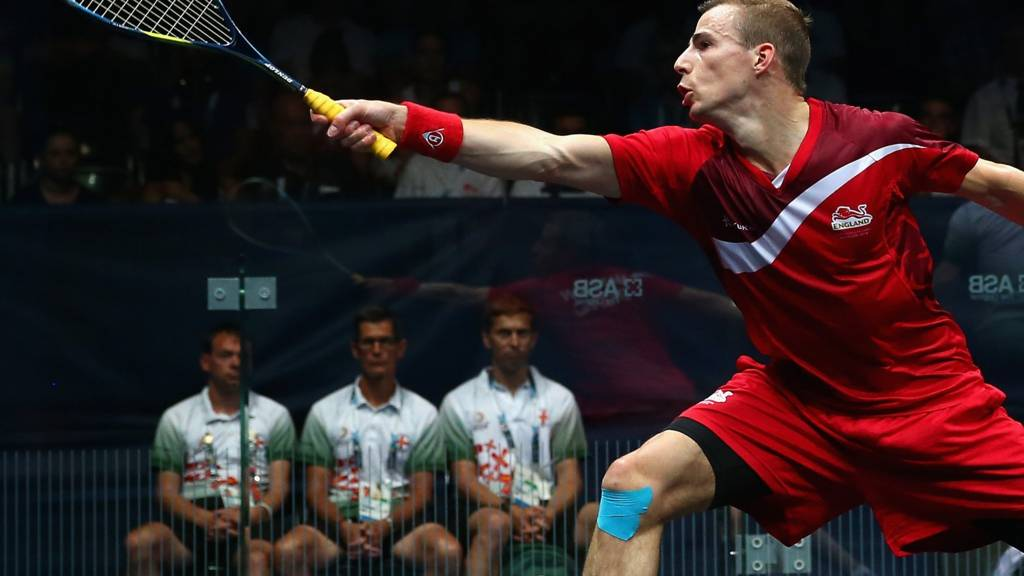 Nick Matthew at the Commonwealth Games