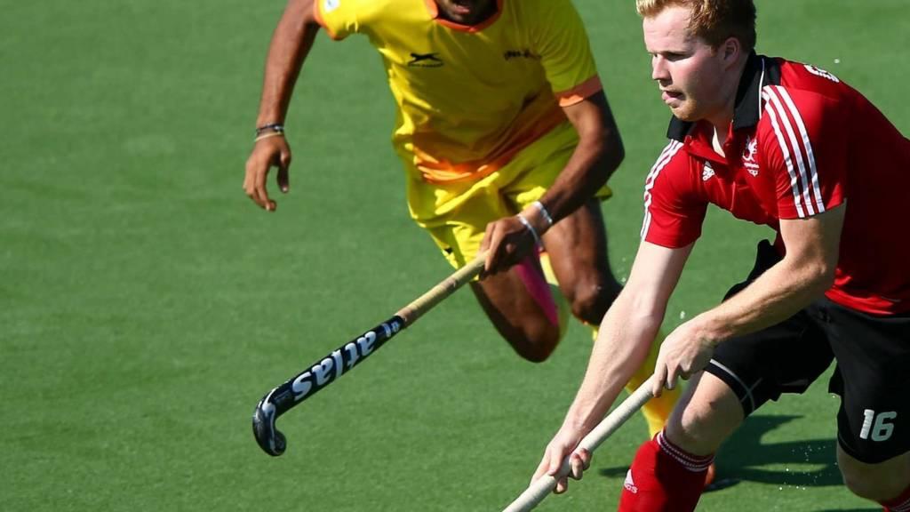 Wales hockey star Rhys Gowman