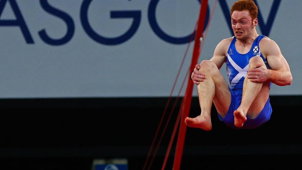 Scotland's Daniel Purvis in action