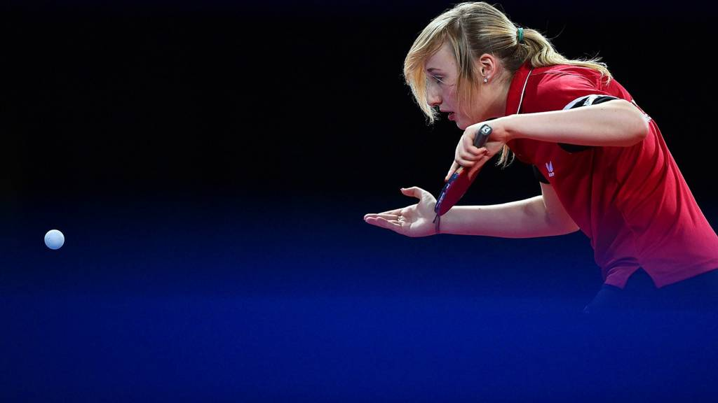 Charlotte Carey of Wales in action