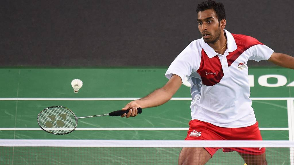 England's Rajiv Ouseph in action